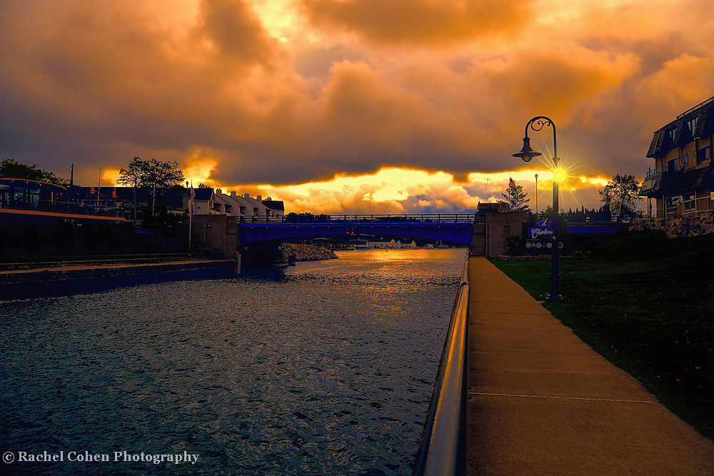 &quot;Fire in the Sky over Charlevoix&quot;<br />
