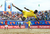 RAVENNA, ITALY - SEPTEMBER 08:  FIFA Beach Soccer World Cup at the Stadium del Mare on September 8, 2011 in Ravenna, Italy. (Photo by Manuel Queimadelos)