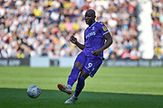 Stoke City striker (on loan from Wolverhampton Wanderers) Benik Afobe (9) looks to release the ball during the EFL Sky Bet Championship match between West Bromwich Albion and Stoke City at The Hawthorns, West Bromwich, England on 1 September 2018.