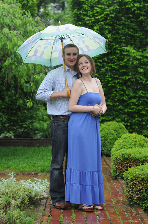 A rainy day engagement shoot with Alison & Jacob at Ashland, Friday, May 8, 2009 in Lexington, Ky.