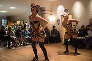 Bees Knees, Soho Society Silver Sunday Tea Dance, St. Anne's Church Hall, Soho, London. 2 October 2016