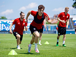 OSIJEK, CROATIA - Friday, June 7, 2019: Wales' Daniel James during a training session at Stadion Gradski vrt ahead of the UEFA Euro 2020 Qualifying Group E match against Croatia. (Pic by David Rawcliffe/Propaganda)