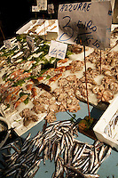 22 Apr 2006, Naples, Italy --- Fresh Seafood for Sale --- Image by © Owen Franken