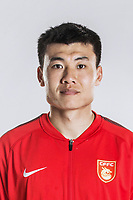 **EXCLUSIVE**Portrait of Chinese soccer player Dong Xuesheng of Hebei China Fortune F.C. for the 2018 Chinese Football Association Super League, in Marbella, Spain, 26 January 2018.