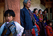 The Punakha Festival draws Bhutanese pilgrims from neighbouring valleys to the Dzong, or monastery, for colourful buddhist rituals.