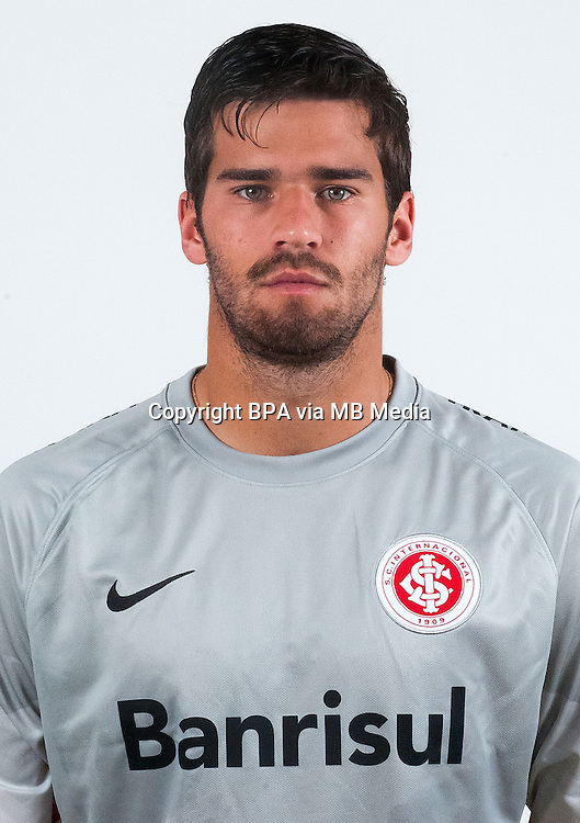 Brazilian Football League Serie A / <br /> ( Sport Club Internacional ) - <br /> Alisson Ramses Becker &quot; Alisson Becker &quot;