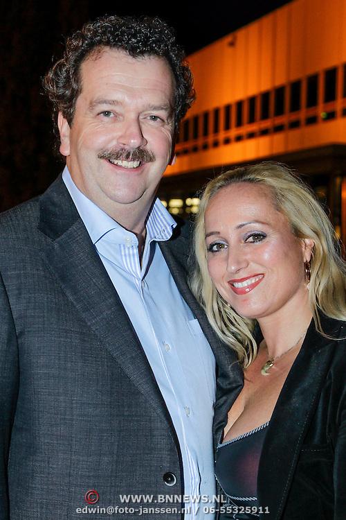 NLD/Utrecht/20121018- Premiere Speed, Robert Ronday en partner Adriana Folco