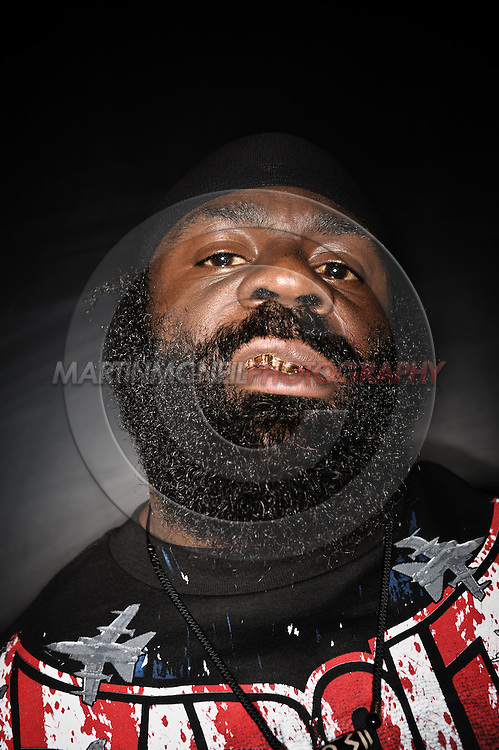 A portrait of mixed martial arts athlete Kevin Ferguson aka Kimbo Slice