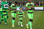 Mascot during the EFL Sky Bet League 2 match between Forest Green Rovers and Lincoln City at the New Lawn, Forest Green, United Kingdom on 2 March 2019.