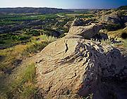 AA02181-03...NORTH DAKOTA - Overlooking the Little Missouri River from Oxbow Overlook in Theodore Roosevelt National Park.