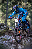 Nikolas Nestoroff (USA) at the 2018 UCI MTB Downhill World Championships - Lenzerheide, Switzerland
