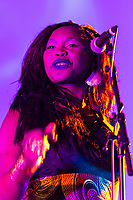 Back up singer to Oumou Sangare performing at Womadelaide 2017 Music Festival held between 10 - 13 March 2017 in Adelaide, South Australia