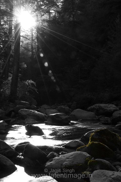 Sunrise in Banjar Valley