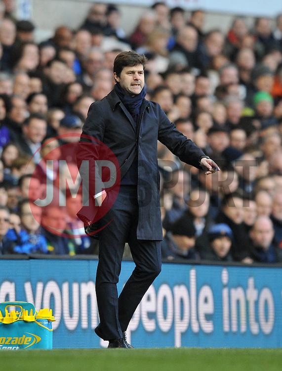 Tottenham Hotspur Manager Mauricio Pochettino - Mandatory by-line: Paul Knight/JMP - Mobile: 07966 386802 - 20/03/2016 -  FOOTBALL - White Hart Lane - London, England -  Tottenham Hotspur v AFC Bournemouth - Barclays Premier League