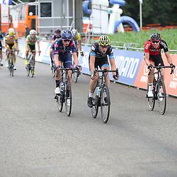 24-06-2017: Wielrennen: NK weg beloften: Montferland <br />s-Heerenberg (NED) wielrennen <br />Pascal Eenkhoorn, Stef Krul, Julius van der Berg