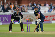 Tim Ambrose and Ben Foakes during the Royal London One Day Cup match between Warwickshire County Cricket Club and Surrey County Cricket Club at Lord's Cricket Ground, St John's Wood, United Kingdom on 17 September 2016. Photo by David Vokes.