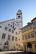 Altstadt von Ravensburg, Blaserturm und Waaghaus, Baden-Württemberg, Deutschland