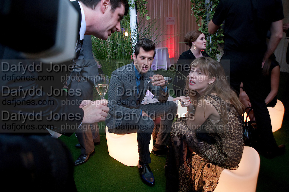 Mark Ronson; Josephine de la Baume, Glamour magazine Women of the Year Awards. Berkeley Square. London. 2 June 2009