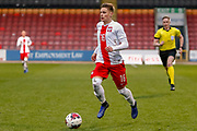 Nicola Zalewski during the U17 European Championships match between Scotland and Poland at Firhill Stadium, Maryhill, Scotland on 26 March 2019.