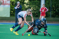 England's Alex Danson. England v Belgium, Bisham Abbey, Marlow, UK on 09 May 2014. Photo: Simon Parker