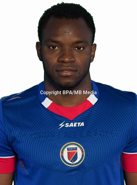 Football Conmebol_Concacaf - <br />Copa America Centenario Usa 2016 - <br />Haiti National Team - Group B - <br />Jean Alcenat