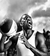 Orlando Magic NBA star Tracy McGrady in his hometown of Auburndale, FL, Photo by Roberto Gonzalez