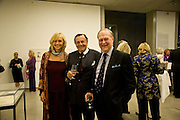 LIZZIE HUMPHRIES; BARRY HUMPHRIES; FREDERICK KOCH, Dinner at the Museum der Moderne. Salzburg.  Amadeus Weekend. Salzburg. 23 August 2008.  *** Local Caption *** -DO NOT ARCHIVE-© Copyright Photograph by Dafydd Jones. 248 Clapham Rd. London SW9 0PZ. Tel 0207 820 0771. www.dafjones.com.