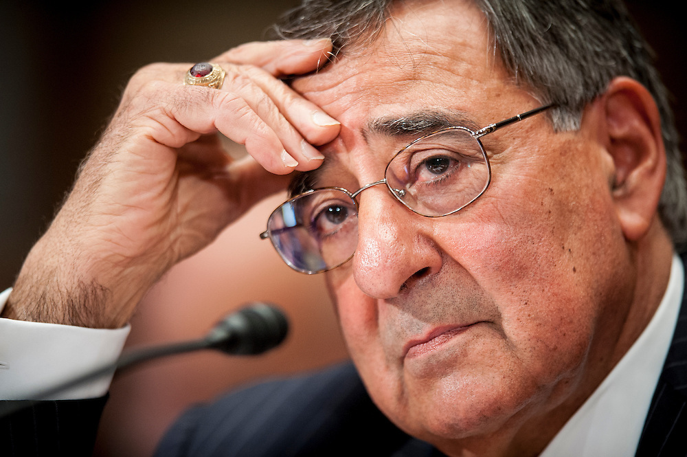 U.S. Defense Secretary Leon Panetta testifies before the Senate Appropriations Committee on the FY2013 Defense Department budget request on Capitol Hill in Washington, D.C, USA, 13 June 2012.