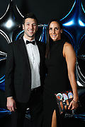 Adelaide 36ers and Adelaide Lightning MVP Dinner at the Titanium Security Arena. Tim and Laura Hodges
