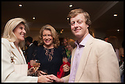 BRIDGET CONVEY; KATE WAKE-WALKER; HON AVON CAYZER, The hon Alexandra Foley hosts drinks to introduce ' Lady Foley Grand Tour' with special guest Julian Fellowes. the Sloane Club. Lower Sloane st. London. 14 May 2014