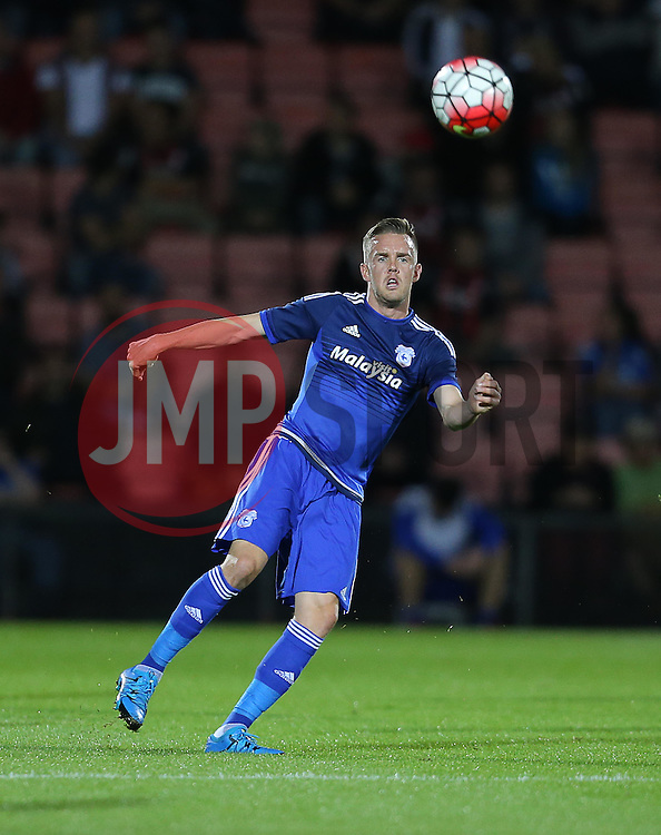 Craig Noone of Cardiff City - Mandatory by-line: Paul Terry/JMP - 07966386802 - 31/07/2015 - SPORT - FOOTBALL - Bournemouth,England - Dean Court - AFC Bournemouth v Cardiff City - Pre-Season Friendly