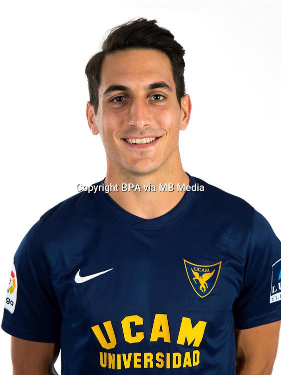 Spain - La Liga B 123 _ 2016-2017 / <br /> ( Ucam Murcia C.F.) - <br /> Pablo Pallares Marzo &quot; Pablo Pallares &quot;