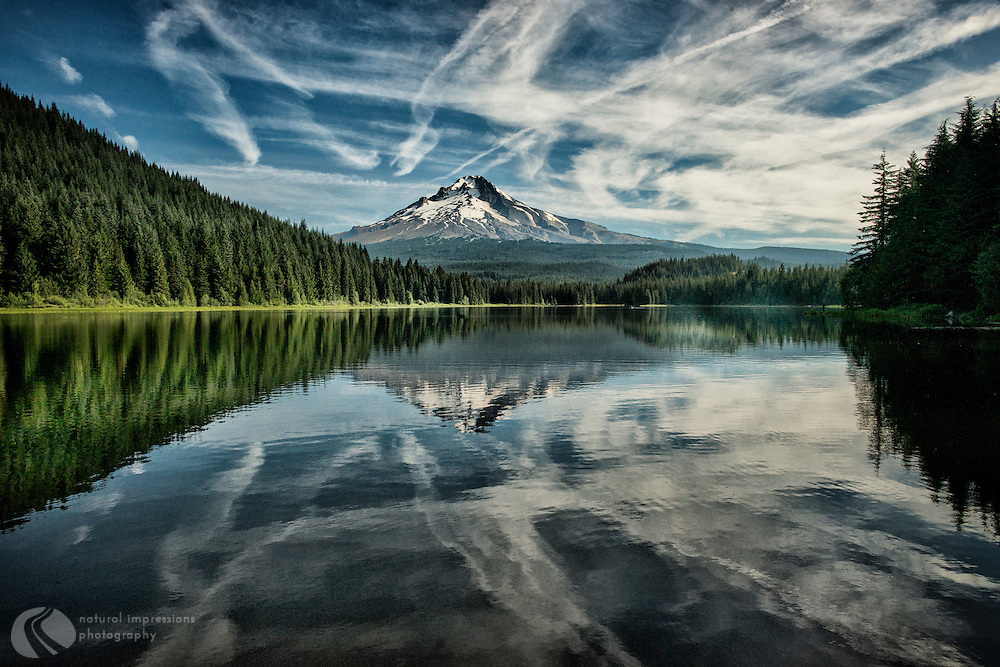 Trillium Lake near Mt. Hood; oregon