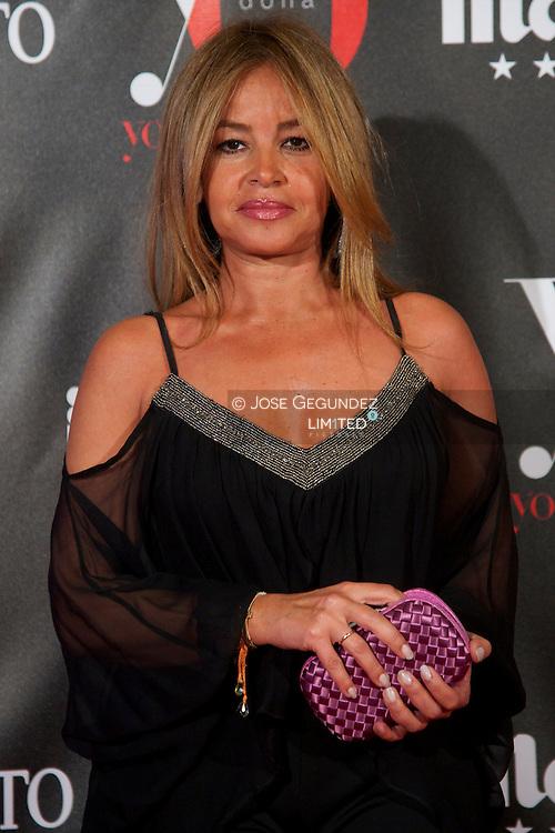 Begona Garcia Vaquero attends 'Yo Dona' Magazine's Mask Party at Casino on 18 February, 2013 in Madrid