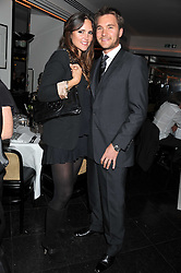 BEN & ELLE CARING at a dinner to celebrate the 30th anniversary of Le Caprice, Arlington Street, London SW1 on 4th October 2011.