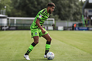 Forest Green Rovers Dominic Bernard(3) on the ball during the EFL Sky Bet League 2 match between Forest Green Rovers and Grimsby Town FC at the New Lawn, Forest Green, United Kingdom on 17 August 2019.
