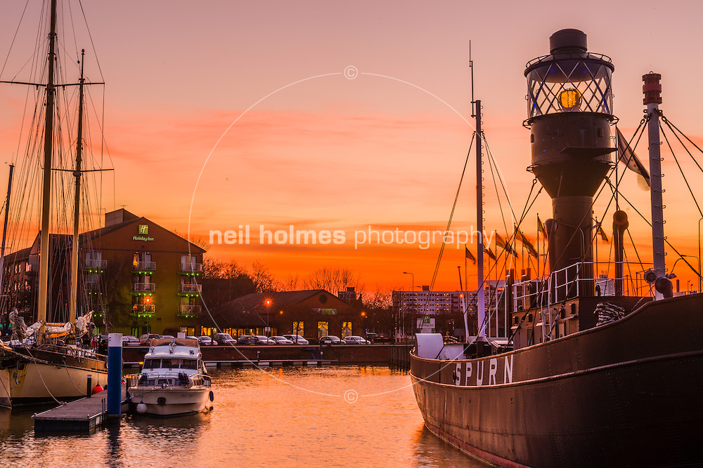 The Spurn Lightship, Hull Marina, April 6, 2013.