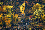 Borrusia Dortmund fans during the Champions League round of 16, leg 2 of 2 match between Borussia Dortmund and Tottenham Hotspur at Signal Iduna Park, Dortmund, Germany on 5 March 2019.