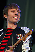 Franz Ferdinands Alex Kapranos plays at V Festival, 2005