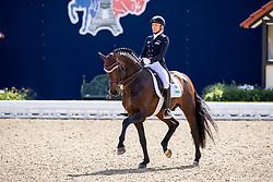 KLIMKE Ingrid (GER), Franziskus 15<br /> Hagen - Horses and Dreams 2019 <br /> Grand Prix de Dressage CDI4*<br /> Preis vom Helenenhof der Familie Schwiebert<br /> 25. April 2019<br /> © www.sportfotos-lafrentz.de/Stefan Lafrentz
