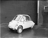 1960 - Heinkel car at Lincoln and Nolans