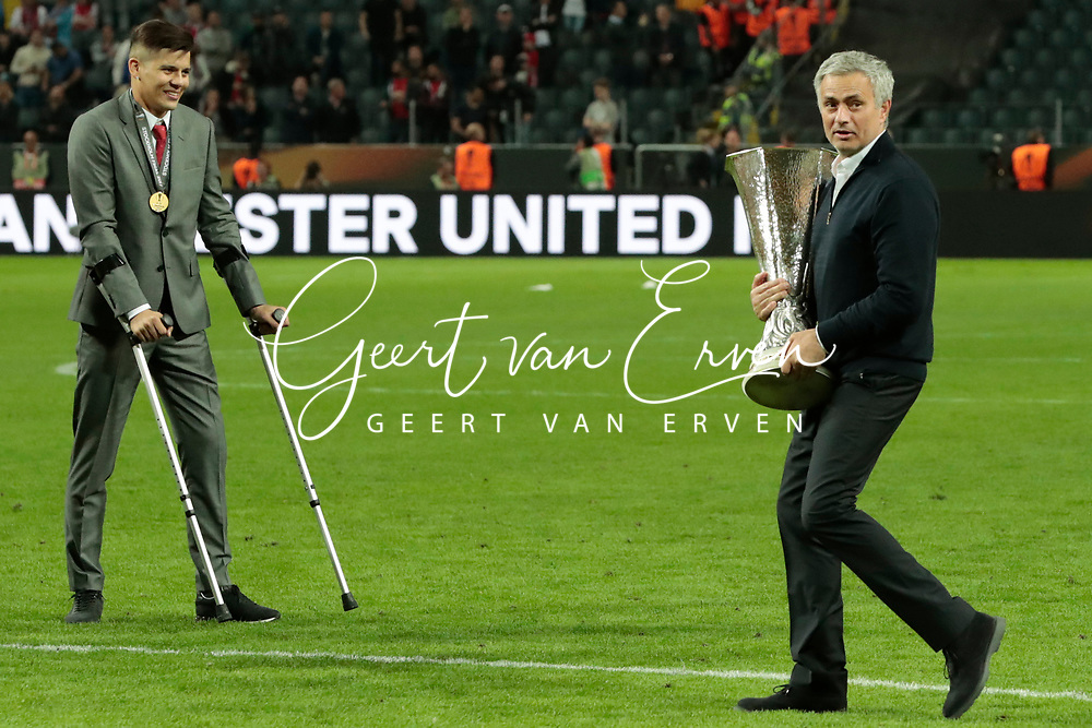 24-05-2017 VOETBAL:AJAX - MANCHESTER UNITED:FINALE:STOCKHOLM<br /> <br /> Trainer/Coach Jose Mourinho van Manchester United <br /> <br /> Foto: Geert van Erven