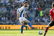 Brighton and Hove Albion midfielder Davy Propper (24) during the Premier League match between Brighton and Hove Albion and Southampton at the American Express Community Stadium, Brighton and Hove, England on 30 March 2019.