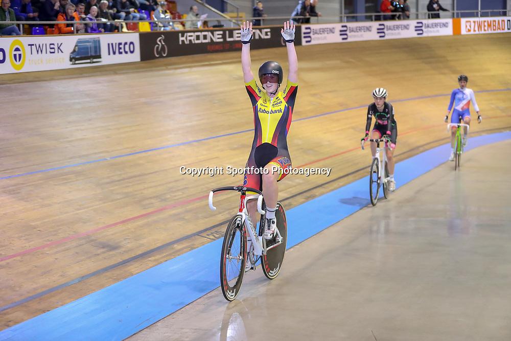 27-12-2017: Wielrennen: NK Baan: Alkmaar <br />Marjolein van t Geloof pakt de titel in de klassementswedstrijd bij de vrouiwen