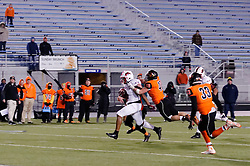 Naseir 'Pop' Upshur of Imhotep Panthers in action at the December 18, 2015 PIAA 3A State Championship at Hersheypark Stadium. (photo by Bastiaan Slabbers)