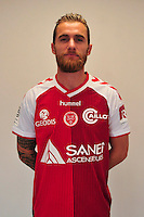 Lucas Deaux - 21.10.2014 - Photo officielle Reims - Ligue 1 2014/2015<br /> Photo : Philippe Le Brech / Icon Sport