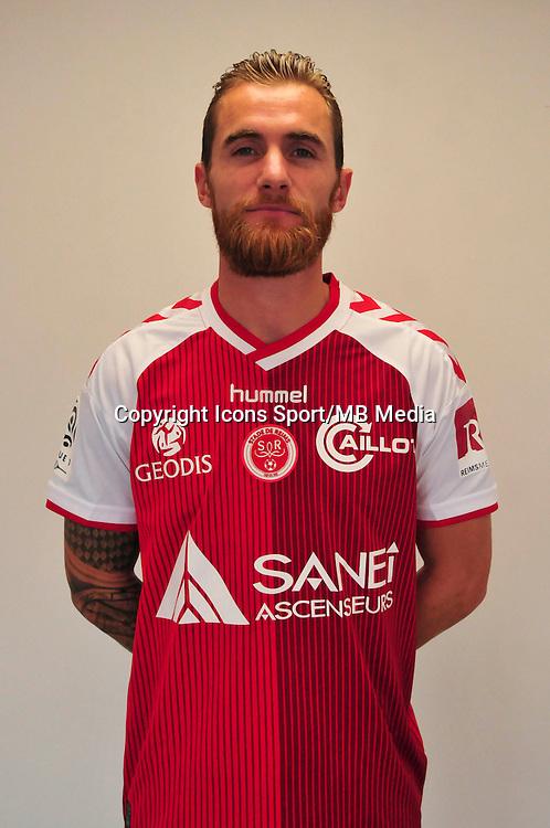 Lucas Deaux - 21.10.2014 - Photo officielle Reims - Ligue 1 2014/2015<br /> Photo : Philippe Le Brech / Icon Sport