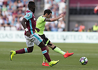 Football - 2016 / 2017 Premier League - West Ham United vs. AFC Bournemouth<br /> <br /> Bournemouth's Callum Wilson with an effort at the West ham goal <br /> at The London Stadium.<br /> <br /> COLORSPORT/DANIEL BEARHAM