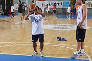 Cagliari, 05/08/2009<br /> Nazionale Italiana Maschile incontra i ragazzi di Special Olympics<br /> Nella foto: special olympics<br /> Foto Ciamillo