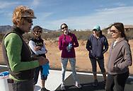 Air marking with Phoenix 99s at Eagle Nest in Aguila, AZ on February 10, 2018.<br /> <br /> The paint gang: left to right: Judy Yerian, Diana LeSueur Andreson, Courtney Smith, Sarah Castillo, Felecia Zahn